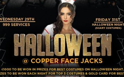 The Best Halloween Party in Dublin