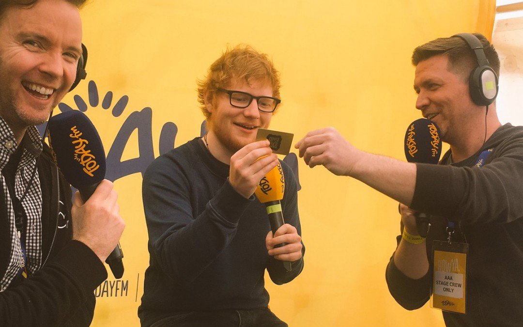 The Minister for Foreign Affairs, a Cornetto, and Ed Sheeran!